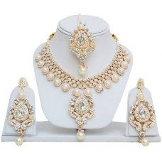 Ожерелье, Серьги и  Тикка. Комплект