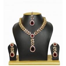 Ожерелье, Серьги.  Комплект