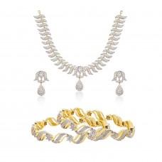 Ожерелье, серьги и браслет