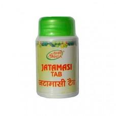 Джатаманси помощь нервной системе, 60 таб, производитель Шри Ганга