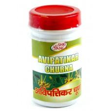 Авипатикар Чурна: натуральное слабительное, 100 г, производитель Шри Ганга