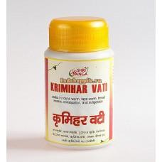 Кримихар Вати: антипаразитарное средство, 50 г, производитель Шри Ганга