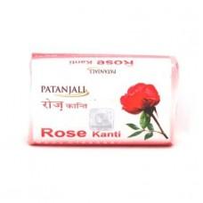 Мыло для лица и тела роза 75 гр. Патанджали