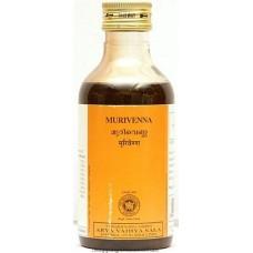 Массажное масло для суставов и костей Муривенна, 200 мл, производитель Коттаккал Аюрведа