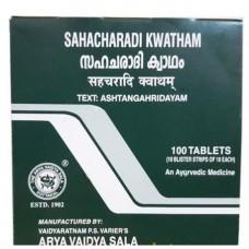 Сахачаради Кватхам от болей в спине и ногах, 100 таб, производитель Коттаккал Аюрведа