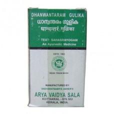 Дханвантарам Гулика для лечения болезней вата-доши, 100 таб, производитель Коттаккал Аюрведа