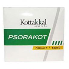 Псоракот, при заболеваниях кожи, 100 таб, производитель Коттаккал Аюрведа