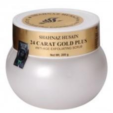 24-Каратное золото плюс анти-возрастной отшелушивающий скраб-200 гм.