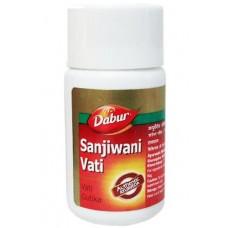 Противовирусное средство Сандживани Вати, 80 таб, производитель Дабур