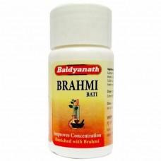 Брахми Вати: тоник для мозга, 80 таб, производитель Байдьянатх