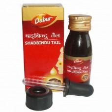 Масляные капли Шадбинду для лечения уха-горла-носа, 25 мл, производитель Дабур