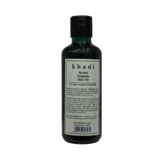 Масло для восстановления поврежденных волос Трифала, 210 мл, производитель Кхади