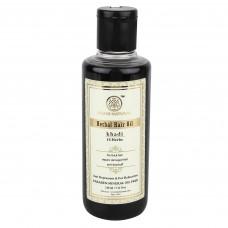 Масло для восстановления волос 18 Трав без парабенов, 210 мл, производитель Кхади