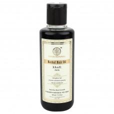 Масло для волос Чистая Амла без парабенов и SLS, 210 мл, производитель Кхади