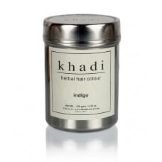 Краска для волос травяная Индиго, 150 г, производитель Кхади