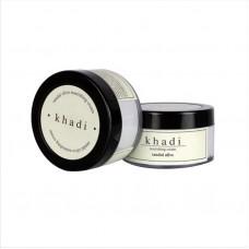 Питательный крем для лица Сандал с Оливой и маслом Ши, 50 мл, производитель Кхади
