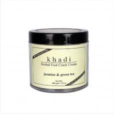 Крем от трещин на стопах с маслом Ши Жасмин и Зеленый чай, 100 г, производитель Кхади