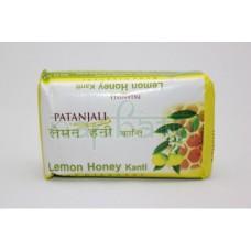Мыло для лица лимон и мед 75 гр. Патанджали