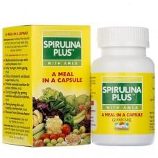 Спирулина: источник витаминов и белка, 60 кап, производитель Сунова