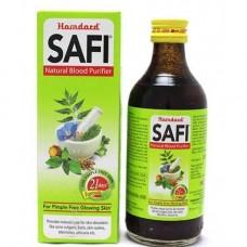 Аюрведический сироп для очищения крови Сафи, 200 мл, производитель Хамдард