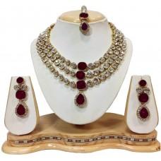 Ожерелье с серьгами для девушек и женщин