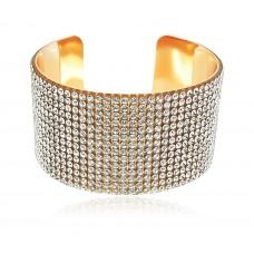 Позолоченный браслет для женщин Кристалл