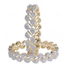 Комплект браслетов для женщин с цирконием