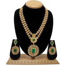 Комплект ювелирных изделий (зеленый)
