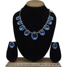 Комплект ювелирных изделий (синий)