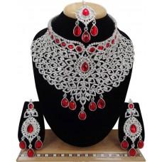 Комплект ювелирных изделий (Красный)