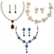 Этническое колье-ожерелье для женщин (золотистое)