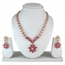 Комплект ювелирных изделий (розовый)