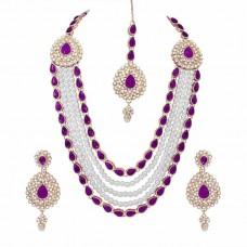 Ожерелье, Серьги и Тикка Комплект