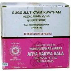 Гуггулутиктам Кватхам для лечения заболеваний кожи, суставов и костей, 100 таб, производитель Коттаккал Аюрведа